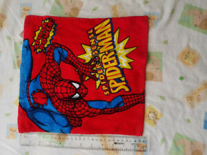 Face washcloths - spiderman and more