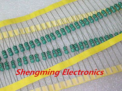 50pcs 0410 Color Ring Inductance 1mh 102k 0.5w Axial Rf Choke Coil Inductor