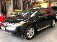 NISSAN MURANO 3.5 V6 Black Auto Petrol / LPG 2008 (08)
