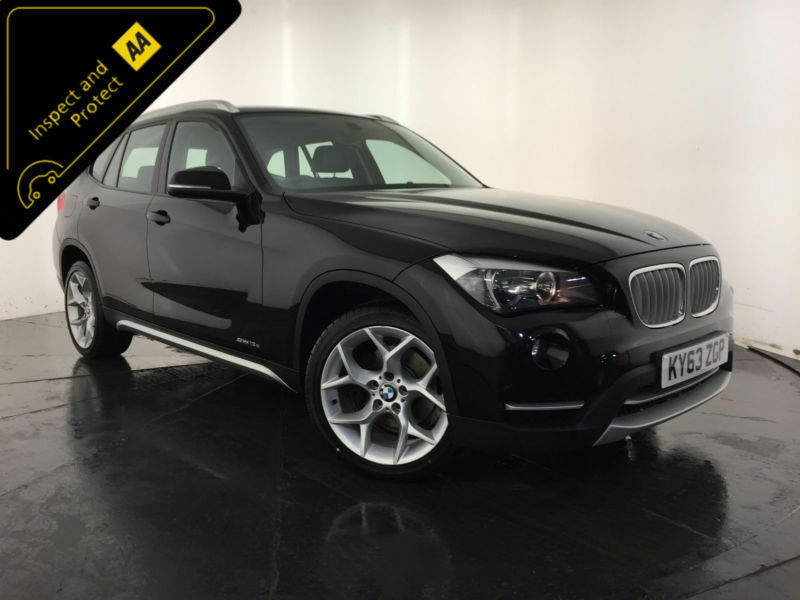 2014 bmw x1 sdrive 18d xline 1 owner service history finance px welcome in hinckley. Black Bedroom Furniture Sets. Home Design Ideas