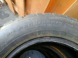 4 winter tires - lots of thread life Cornwall Ontario image 1