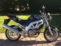 Suzuki SV650 for sale 03 reg under 9k miles