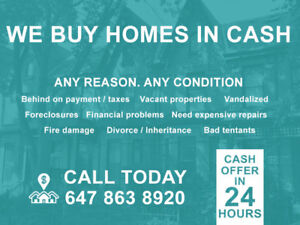 Sell Your Home Fast - Cash Offer in 24 Hrs.