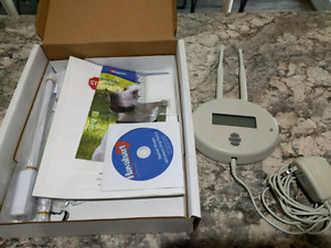 Wireless electric dog fence and collar