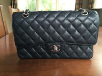 AUTHENTIC 2.55 Double Flap CHANEL CIRCA 1990'S