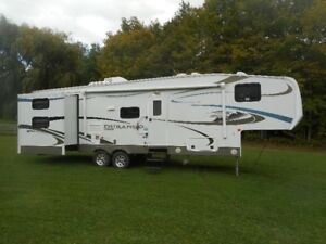 roulotte fifth wheel durango kz 296BHS 2012 2 extension