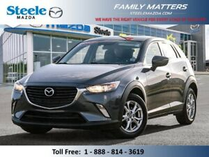2017 Mazda CX-3 GS  (Unlimited KM Warranty)