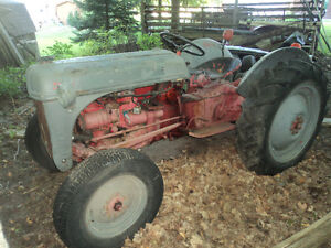 1952 Ford 8N (8 speed) with Sherman Step-up transmission Peterborough Peterborough Area image 2