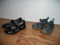 """ GEOX""` KEEN"""" very good condition  27 EU / 10 US - 10$ for 2"
