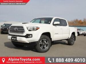 2017 Toyota Tacoma TRD Sport  - Bluetooth  - POWER MOONROOF