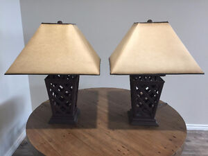 BLOWOUT!!!! Wrought Iron Table Lamps