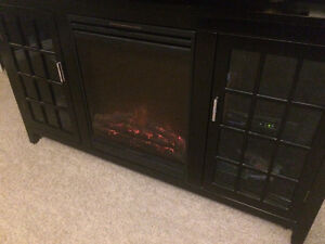 Fireplace Television Stand
