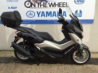 2016 YAMAHA NMAX 125, BLACK WITH MANY ACCESSORIES!
