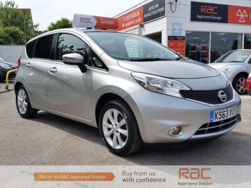 NISSAN NOTE ACENTA PREMIUM DIG-S 2014 Petrol Manual in Silver