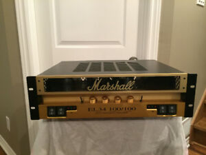 Marshall monobloc power amplifier