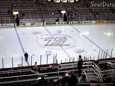 Two (2) Tickets- Detroit Red Wings vs Ottawa Senators  - 4/3  Sec.209 Row 18