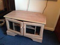 Limed Oak TV Cabinet
