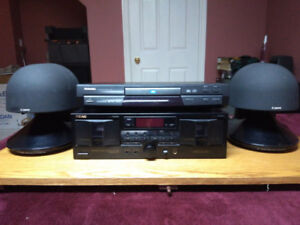 DVD Player, Tape Deck, Speakers (Combo)