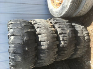 Mud tires for sale multiple sizes and sets