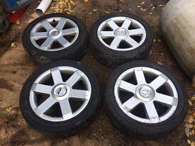 """Peugeot 307 Feline GTI 180 GT 17"""" Alloy wheels"""