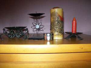 candle holders and candles Kawartha Lakes Peterborough Area image 2