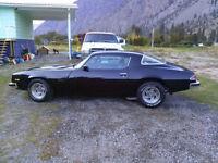 75 Camaro New motor