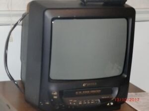 Combination TV and Video Cassette recorder