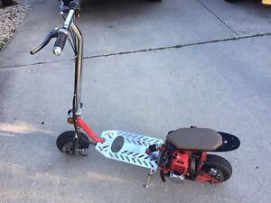Gas scooter/bike