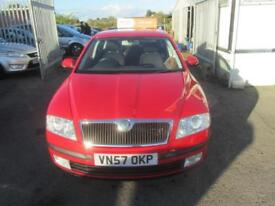2007 Skoda Octavia Hatch 5Dr 1.9TDi PD 105 Elegance Diesel red Manual