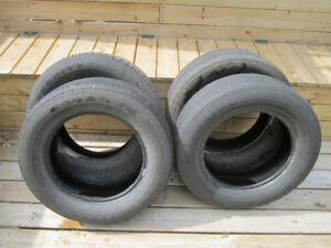 Set of 4 GoodYear Integrity 235/65/17  summer tires