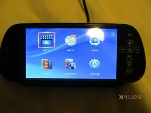 """7"""" Night Vision LCD Car Monitor West Island Greater Montréal image 6"""