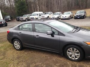 2012 CIVIC CERT TAXS WARRANTY ALL INCL IN PRICE 9040.00