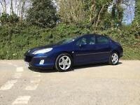 2004 54 PEUGEOT 407 2.0 HDI SV 6 SPEED MANUAL BLUE FULL SERVICE HISTORY ONLY 72k