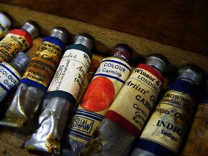 Oil painting tube