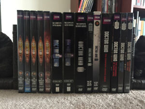 Doctor Who DVDs