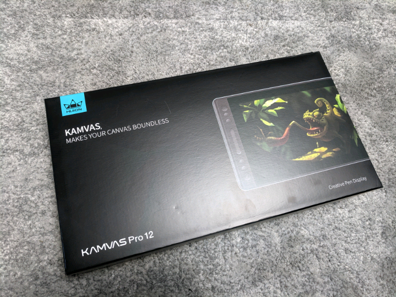 Huion KAMVAS PRO 12 Graphic Tablet with Screen | in Ashbourne, Derbyshire |  Gumtree