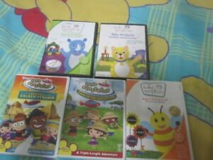 Baby Einstein and Little Einsteins DVD's (5)