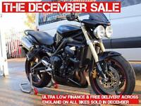 2008 - TRIUMPH STREET TRIPLE, EXCELLENT CONDITION, £4,000 OR FLEXIBLE FINANCE