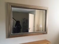 Champagne large mirror