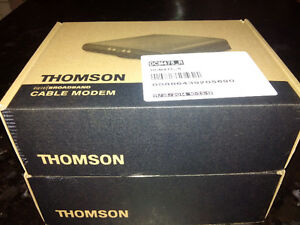 thomson dcm475 DOCSIS 3 cable modem new in box x 2 Kitchener / Waterloo Kitchener Area image 1