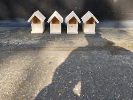 Wooden Bird Boxes