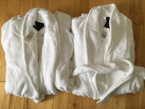 Robe de chambre blanche