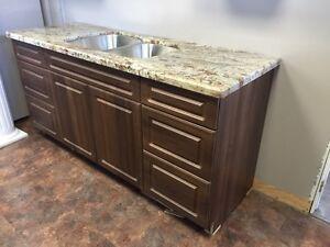 Kitchen cabinet and Granite countertop
