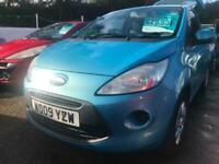 2009 Ford KA 1.2 Style+ 3dr HATCHBACK Petrol Manual