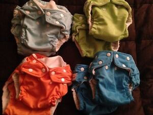 Cloth diaper de-stash!