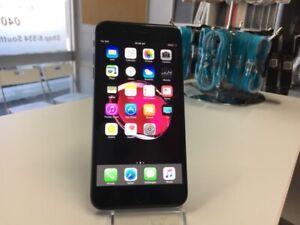 iPhone 7 Plus 128gb matt black unlocked warranty invoice