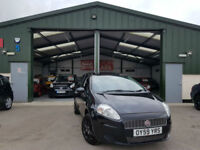 2009 Fiat Grande Punto 1.4 8v MANUAL PETROL NEW SERVICE BLACK