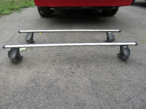 Jetta Thule Roof Racks with key