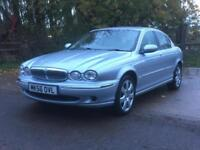 Jaguar X-TYPE 2.0D 2006/56 SE 78834 miles FSH Liquid Silver/Barley leather