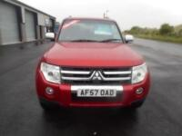 MITSUBISHI SHOGUN 3.2 DIESEL AUTO WARRIOR 3 DOOR SAT NAV LEATHER